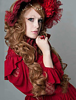 Europe and the United States High Quality Fashion Long Curly Golden Hair Wigs