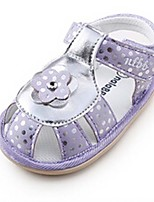 Baby Shoes Casual Leatherette Sandals Blue/Purple