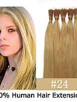 3 Set 18 inch Keratin Stick Tip/ I Tip 0.5g/s Malaysian Human Hair Extensions 14 Colors for Women Beauty