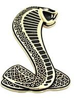 metallo 3d cobra dorato refitting emblema distintivo decorazione adesivi per auto