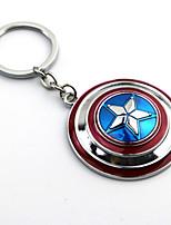Captain America Shield Necklace Movie Cosplay Accessory