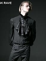 PUNKI RAVE Y-522 Men's Casual Pure Long Sleeve Regular Shirt