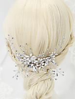 Alloy/Imitation Pearl/Rhinestone Headbands Wedding/Party 1set