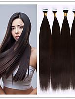 Kleber Hauteinschlag / Band im Haar Keratinhaarverlängerung brasilianisches menschliches reines gerades Haar 2,5 g / s 100g / pc 1pc / lot
