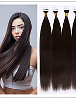 Glue Skin Weft/Tape In Hair Keratin Hair Extension Brazilian Human Virgin Straight Hair 2.5G/S 100G/PC 1PC/LOT In Stock