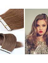 1pc/lot Brazilian Virgin Hair Tape Hair Extension Straight Hair 18