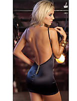 Women's Supper Hot Backless Racy Lingerie Polyester Ultra Sexy Short  Dress/Suits Nightwear