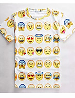 Women's High Quality Creative Special Funny Summer Breathable 3D Style T-Shirt——Expressions Figure