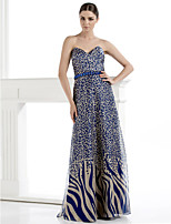 TS Couture Formal Evening Dress - Sheath/Column Sweetheart Floor-length Chiffon