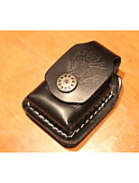 Classical Black Ear Design Lighter Holster