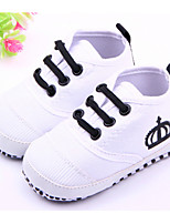 Baby Shoes Casual Fabric Fashion Sneakers Red/White
