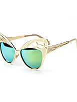 mujeres 's Polarizada / 100% UV400 Ojo de Gato Gafas de Sol