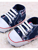 Baby Shoes Outdoor/Casual Fabric Fashion Sneakers Blue/Neutral