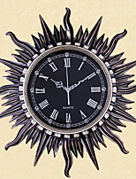 Modern Polyresin Round Wall Clock 26.4 x 26.4