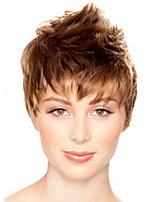 Bobo Wigs White Women European Synthetic Black Women Wigs Natural Short Wigs