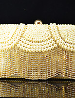 Handbag Satin/Crystal/ Rhinestone/Metal/Sparkling Glitter/Luxurious Satin/Imitation Pearl Evening Handbags With