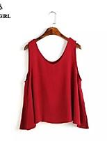 LIVAGIRL®Women's T-shirt Fashion Sexy Sleeveless Vest Korean Style Summer Casual Top Shirt All-Match Undershirt