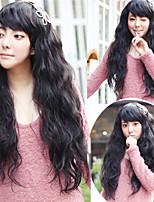 Synthetic Women Wig Europen Style Natural Color Heat Resistant Hair Wigs