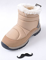 Women's Shoes Synthetic Flat Heel Snow Boots Boots Outdoor Black/Blue/Brown/White