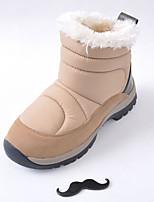 Chaussures Femme - Extérieure - Noir / Bleu / Marron / Blanc - Talon Plat - Bottes de Neige - Bottes - Synthétique
