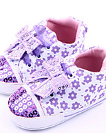 Baby Shoes Casual Fabric Fashion Sneakers Purple