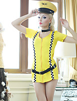 Halloween/Carnival Female Career Tax Driver Costumes Costumes Skirt/Hats