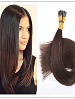 3Pcs/Lot 1G/S 100G/PC Cheap TOP Quality Brazilian Virgin Pre-bonded Hair Keratin I Tip Hair Extensions 18