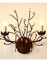Lampade a candela da parete - Rustico - DI Metallo - Cristallo/LED/Stile Mini