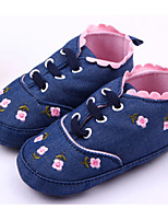 Baby Shoes Casual Fabric Fashion Sneakers Blue/Pink/White