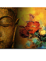 VISUAL STAR®Modern Art Buddha Picture of Abstract Oil Painting Ready to Hang