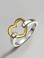 Lady Dress S925 Silver Plated Statement Ring