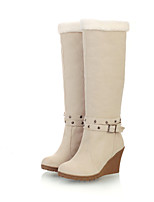 Women's Shoes  Wedges / Fashion Boots Boots Outdoor / Office & Career / Casual Wedge Heel OthersBrown / &608