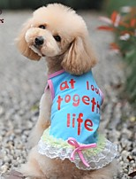 FUN OF PETS® Lovely Lace Bowknot Skirt for Pets Dogs(Assorted Sizes and Colours)