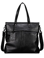 X.BNJ  Men Briefcase Top Grade Genuine Leather Men Business Handbag Vintage First Layer Cowhide Shoulder Bags