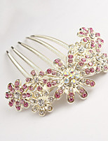 Z&X® Korean Style Elegant Flower Alloy Hair Combs Party/Casual 1pc