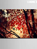 Rettangolare Moderno/Contemporaneo Orologio da parete , Altro Tela35x50cm(14inchx20inch)x1pcs/40x60cm(16inchx24inch)x1pcs/