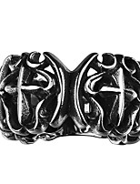 Cross Design RingPunk Style Titanium Fashion Jewelry Ring For Men Dress AccessoriesTS GMYR129