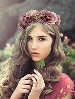 Women Fabric Headband , Party Polyester Flower Headpiece