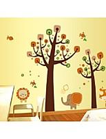 moda habitación de los niños de los elefantes pegatinas animales pared