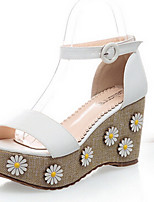 Women's Shoes Wedge Heel Wedges Sandals Outdoor/Dress Blue/Pink/White