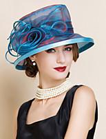 Women Party Summer Mesh Floppy Hat