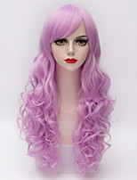 European Style Elegant Women Long Fluffy Wavy Synthetic Vogue Party Lolita Wig