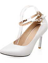 Women's Stiletto Heel Pointed Toe / Closed Toe Heels Office & Career / Party & Evening / Dress / CasualBlack / Pink /