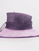 Women Party Summer Linen Fedora Hat
