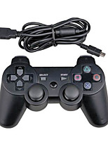 wired controller Dual Shock sei assi per sony ps3 console di gioco pc