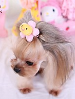 FUN OF PETS® Lovely Flower Shaped Hairpin for Pets Dogs
