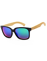100% de madera gafas de sol UV400 senderismo vendimia