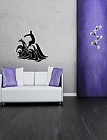 Surfing Pattern Home Decor Wall Stickers