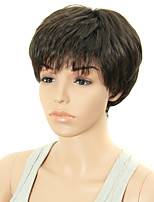 Women Short Straight Synthetic Hair Wigs Pixie Cut wig