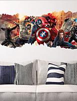 2015 nuovo ZooYoo ®1457 popolari super eroe adesivi carattere giftavengers Adesivo film